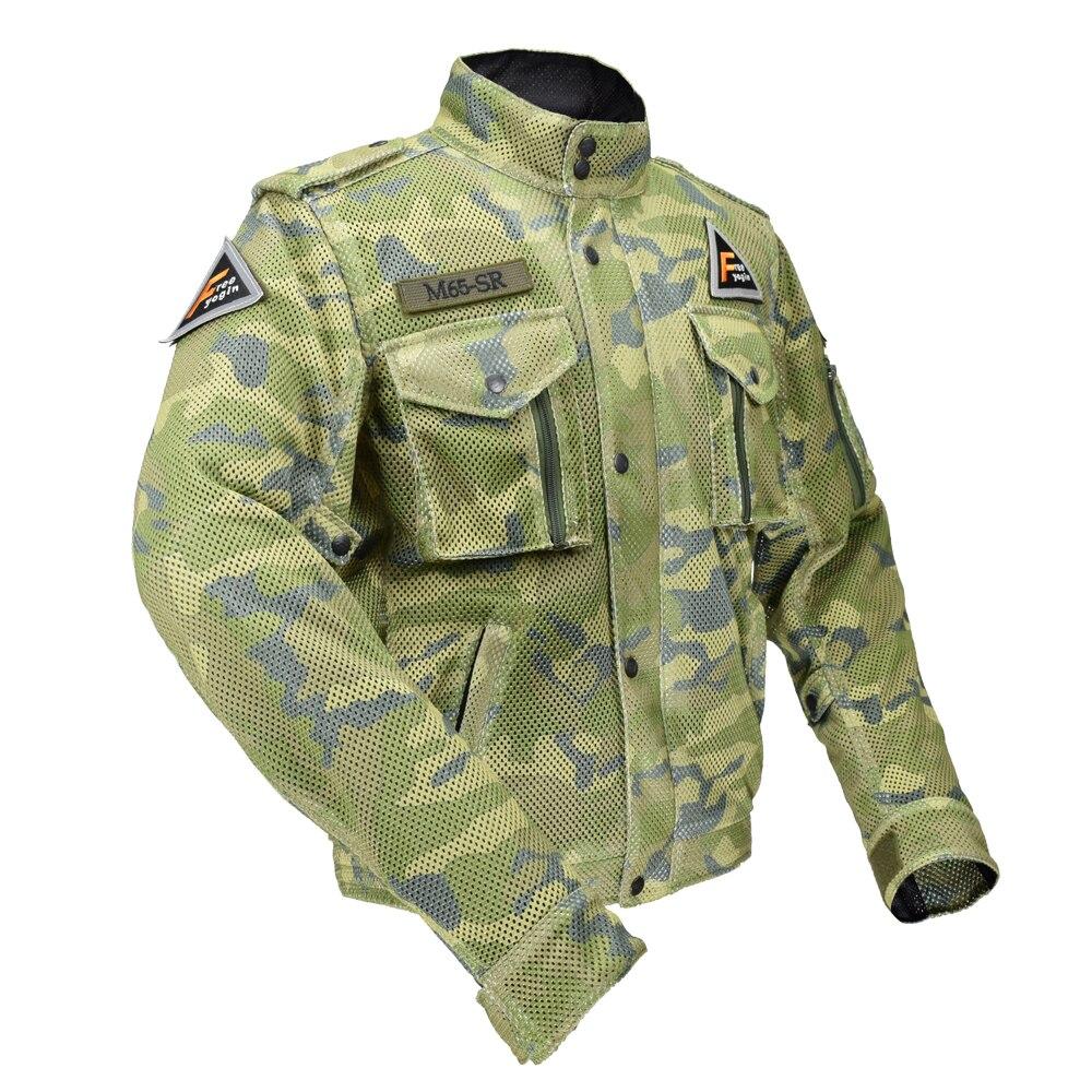 Топ хорошие мотоциклы военные энтузиасты летняя одежда дышащая ажурная ткань жесткий защитный комбинезоны мотоцикл одежды 507 г
