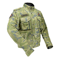 Top Good Motorcycles military enthusiasts summer wear breathable mesh fabric hard protective overalls motorcycle clothing 507G