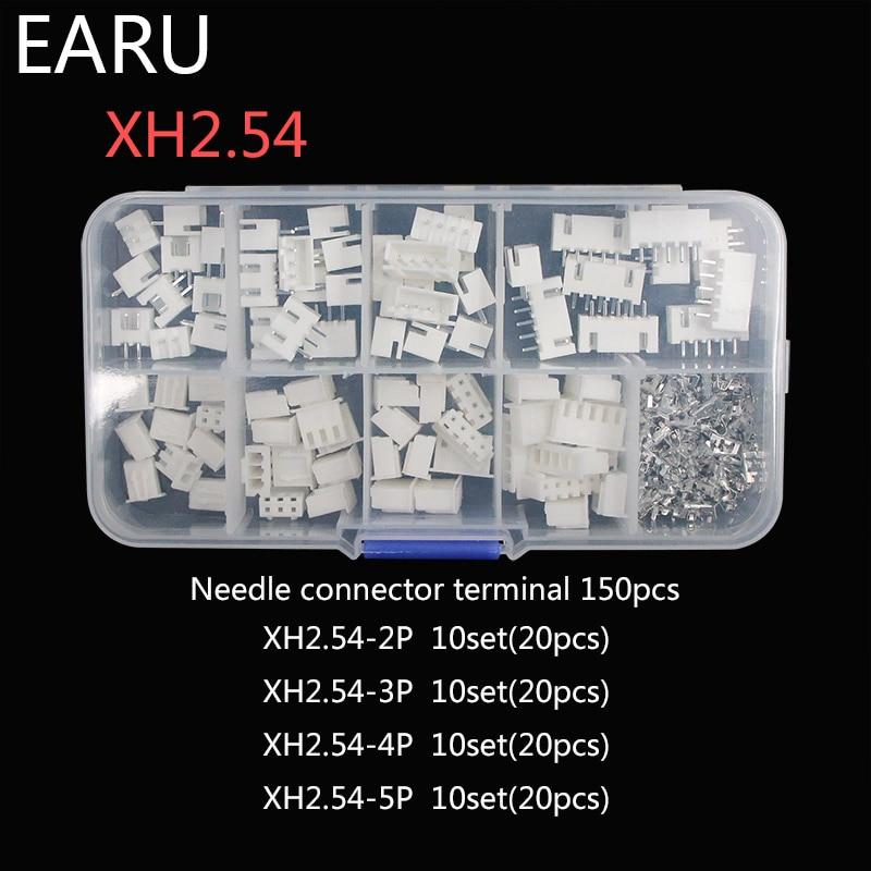 Lot de 5-JST XH XH2.54-4 broches avec 150 mm plomb 2.54 mm XH-4P