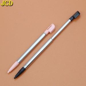 Image 2 - JCD 1 stücke 3 Farbe Versenkbare Metall Touch Screen Stylus Pen Set Für Nintend Für Nintend DS Lite NDSL Gaming zubehör