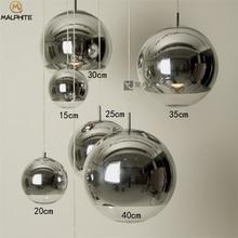 Nordic Glass Ball Pendant Light  Living Room Bedroom Modern Kitchen Fixtures Pendant Lamp Cafe Bar Restaurant Lights Luminaire