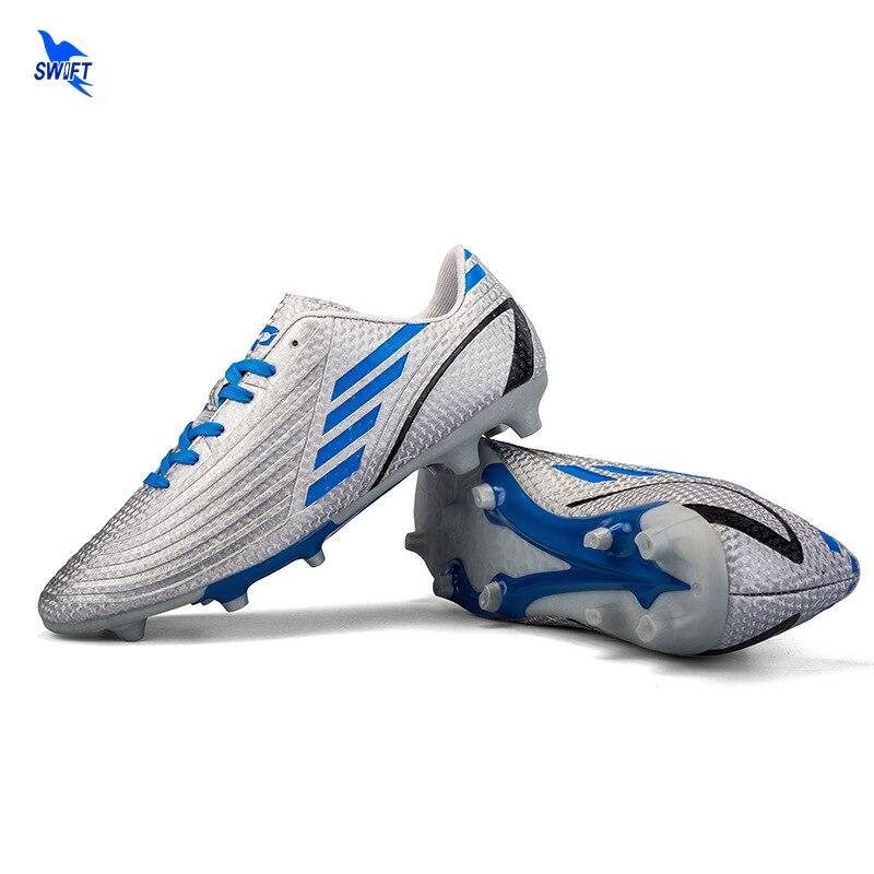 47cbf9069 2018 New Arrival Men Kids Boys Ag Soccer Shoes FG Football Boots Superfly Futsal  Cleats Children Sneakers 30-45 Scarpe Da Calcio