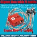 100% Sigma caja Original + 9 cables