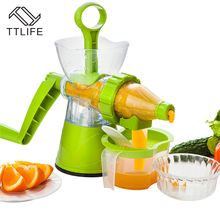 TTLIFE Home Juicer Fruit Squeezer DIY Manual Apple Orange Lemon Household Ice Cream Machine Kitchen Tools