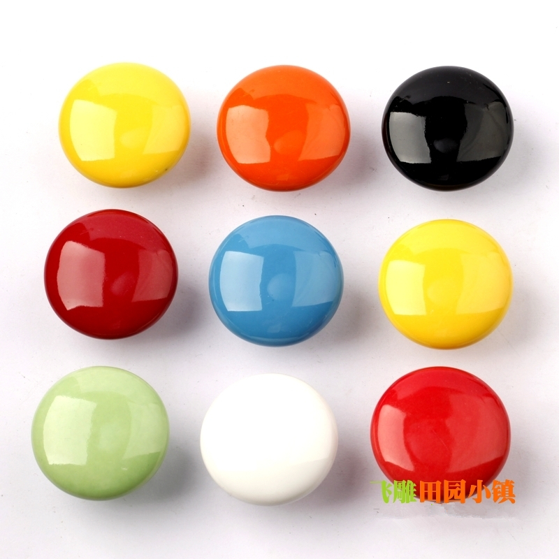 10pcs Cabinet Cupborad Dresser Drawer Door Plastic Ball Shaped Knob Pull Handle