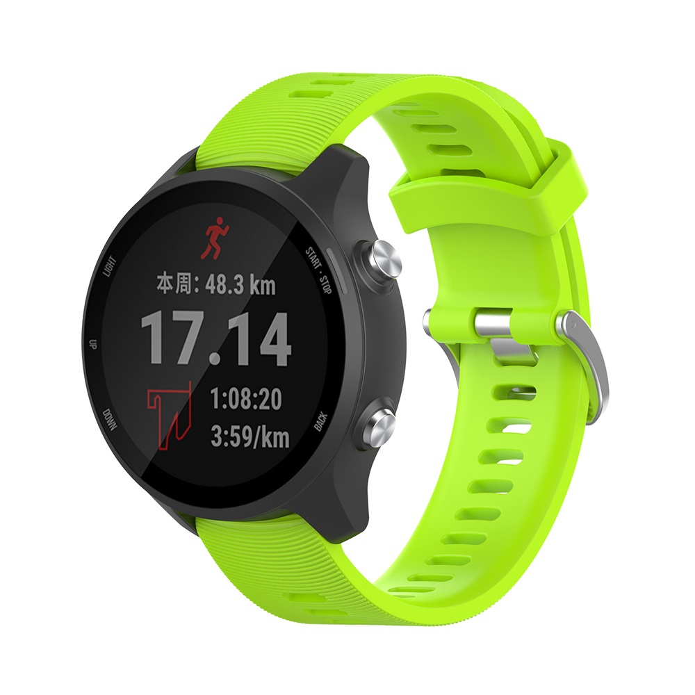 For Garmin 245 Strap Official Button Silicone Watch Band Sports Strap For Forerunner 245M/645/Vivoactive 3/Venu/Venu SQ Bracelet