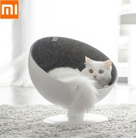 xiaomi-beautiful-fashion-boss-chair-shape-cat-bed-cat-nest-360-degree-rotation-detachable-cushion-mat-high-grade-cat-nest