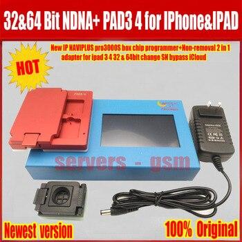 Yeni IP kutusu Pro 3000 S NAND Flash olmayan kaldırma modülü adaptörü için iPad 2/3/4 5 6 iPad hava 1 2 Naviplus Pro3000s NAND onarım aracı