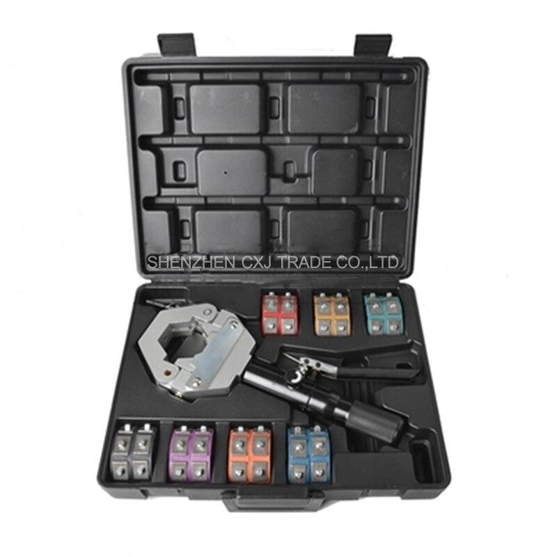 Fs 7842 #71500 automative a/c Шланг Наборы для ухода за кожей обжимной Инструменты для ремонта кондиционер Выхлопные трубы для автомобиля Давление зажи