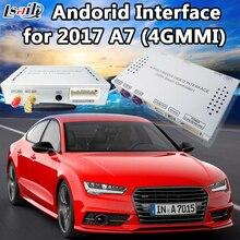 Резервное копирование Камера Android навигации Интерфейс для 4 г MMI Audi A7 с MirrorLink, WI-FI сети, парковка перемещение рекомендация