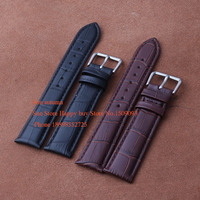 Watchbands Genuine Leather Straps For Watches Black Brown 12mm 14mm 15mm 16mm 18mm 19mm 20mm 21mm