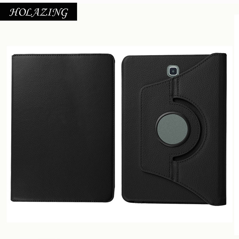 360 Degree Rotation Case For SAMSUNG T815 Galaxy Tab S2 9.7 LTE PU Leather Smart Stand Cover Coque Funda