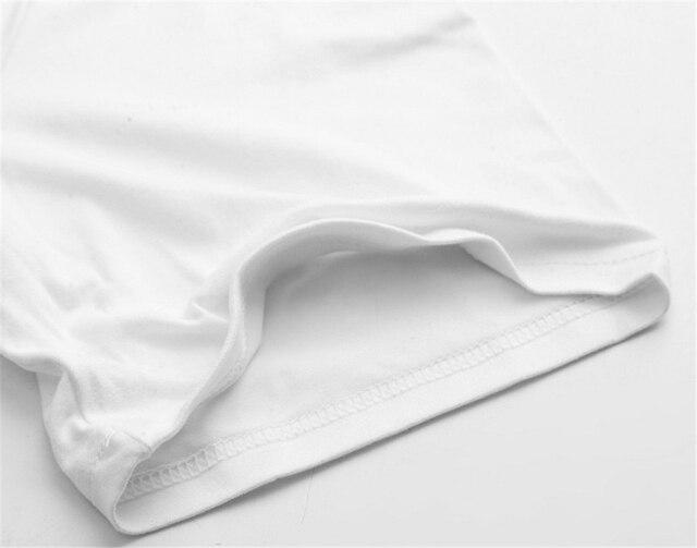 T-shirt Homme en Coton Dessin Animé 2