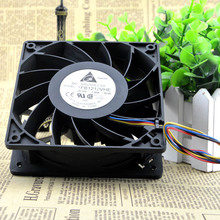 Free Shipping Via dhl Delta 12038 120mm 12cm FFB1212VHE DC 12V 1.5A 24W 4Wire,Violence Server industrial case Cooling Fans