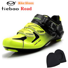 TIEBAO off Road Cycling Shoes Men Self-Locking Bicycle Bike Shoes Racing Athletic sapatilha ciclismo zapatillas deportivas mujer