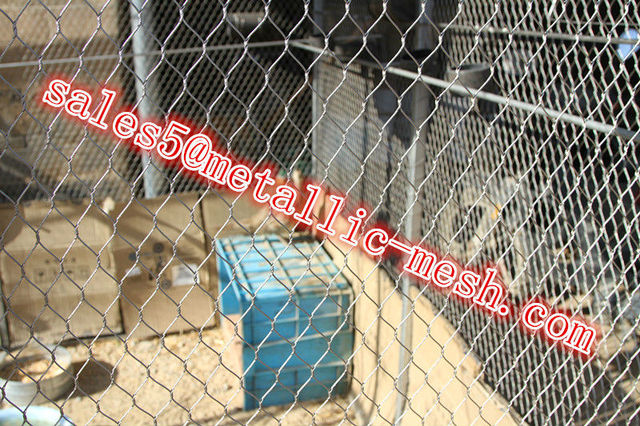 on sales stainless steel zoo wire cable mesh fence for safety-in ...