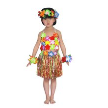 Best Sales Sweet Lovely Baby Clothes 5 Pcs Hawaiian Fancy Hula Grass Tops + Skirt With Flower Accessories Kid Girls Costume  sc 1 st  AliExpress.com & Compare Prices on Hula Costume Girl- Online Shopping/Buy Low Price ...