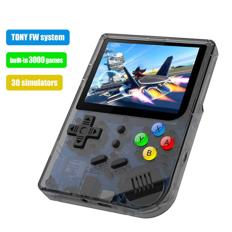 3 inch Video games Portable Retro console Retro Game Handheld Games Console Player 16G 32G 3000