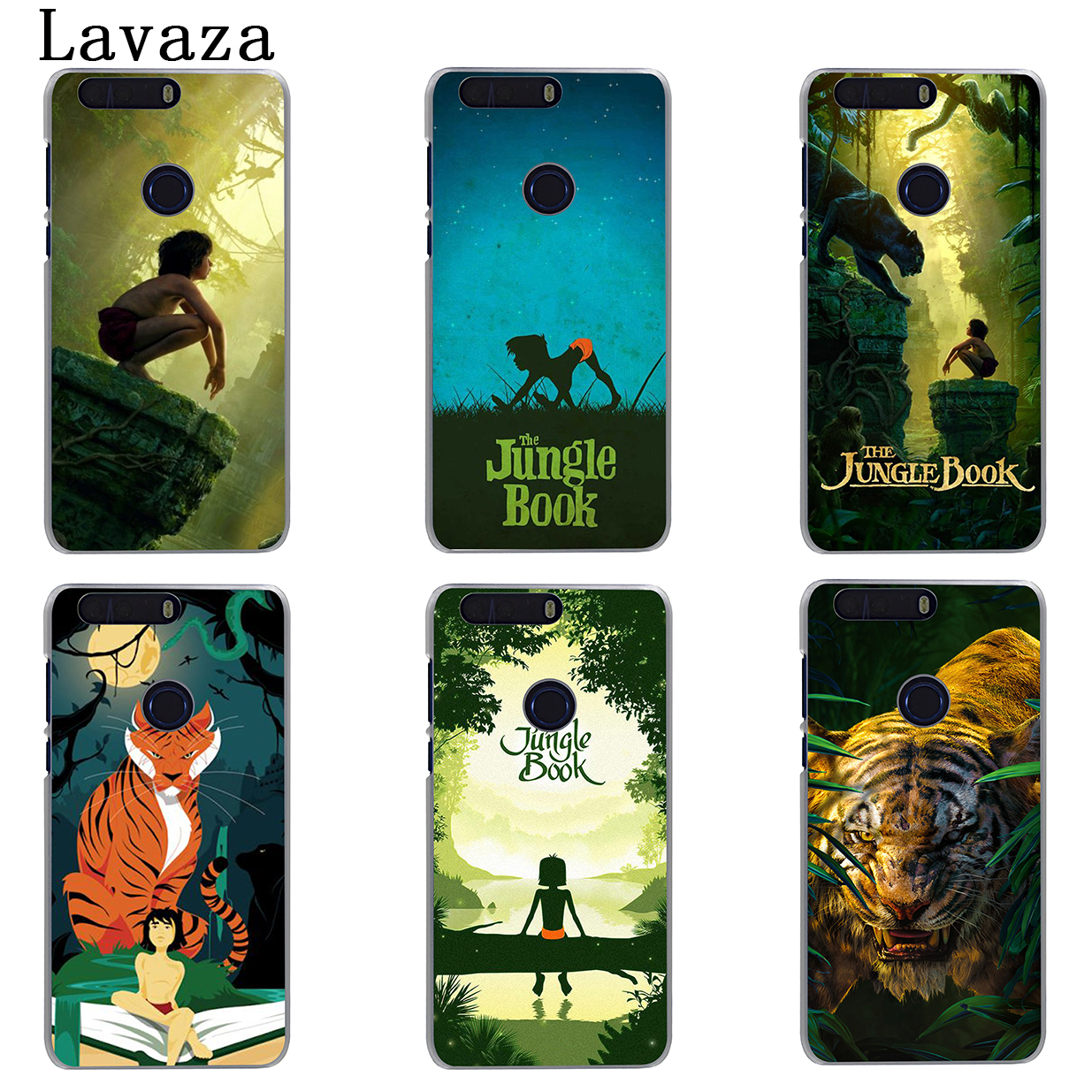 Lavaza The Jungle Book Hard Phone Shell Case for Huawei Mate 10 Lite Pro G7 & Honor 9 8 Lite 7 7X 6 6A 6X 4X 4C Cover