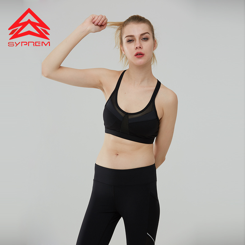 Professional Sale Anti-vibration Lace Quick-drying Yoga Sports Bra Back Outdoor Professional Sports Running Fitness Underwear Female For Fast Shipping Sports & Entertainment Sports Clothing
