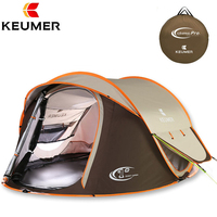 Automatic Speed Open Pop Up 3 4 Person Waterproof Windproof UV Protection Camping Tent Large Gazebo Barraca