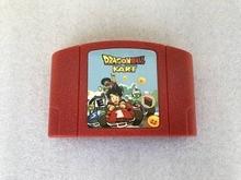 for Nintendo N64 DRAGONBALL KART Video Game Cartridge Card US Version