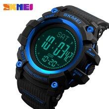 SKMEI Relógio Do Esporte Ao Ar Livre Exercício de Fitness Rastreador Bússola relógio de Pulso Digital de Contagem Regressiva do Tempo Do Mundo Despertador Luminoso
