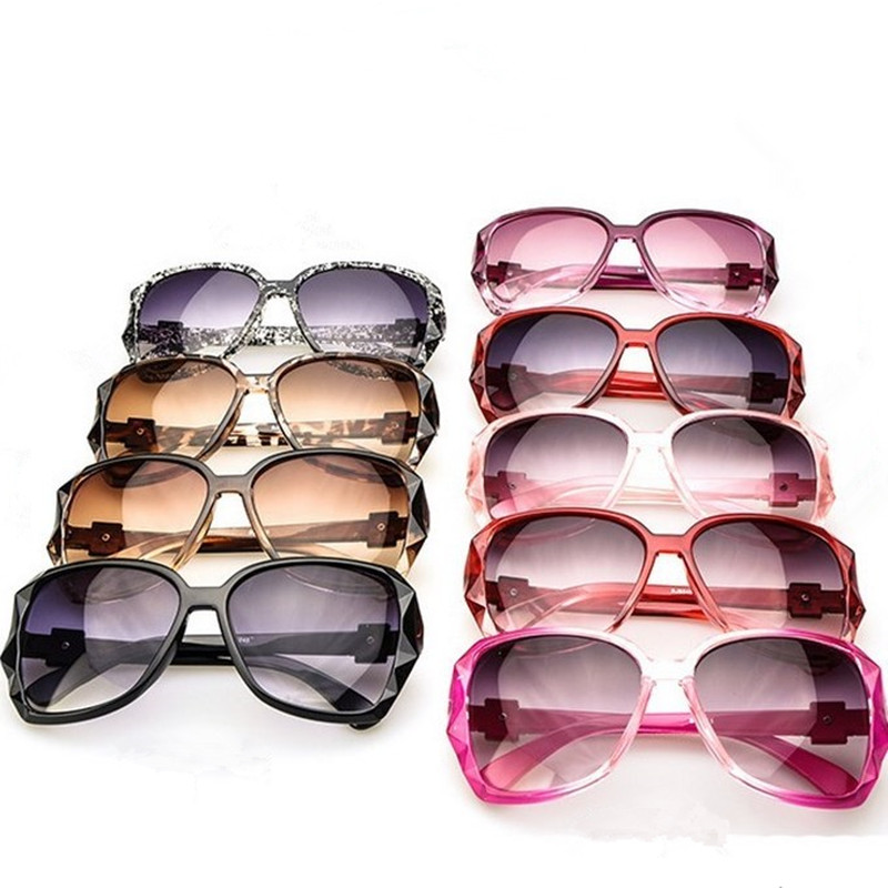 MISM European Brand Design Sun Glasses Womens Sunglasses Lady Plastic Decorate Metal Eyewear Driver Sun glass