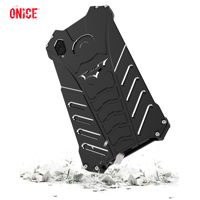 Huawei Honor Play Case Aluminum Metal Shockproof Phone Case on for Fundas Huawei Honor Play Armor Protection Case Cover Men