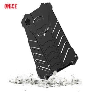 Image 1 - Huawei Honor Play алюминиевый корпус металлический противоударный чехол для телефона на Fundas Huawei Honor Play Броня защиты Чехол для мужчин