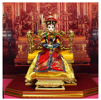 Fortune days Chinese brand doll Xiao Zhuang Empress joint body East Charm including box stand clothes shoes 35cm gift present