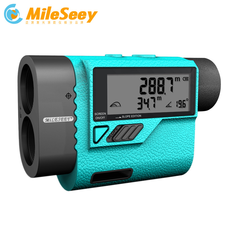 MiLESEEY PF3S Telescope 600m Laser Rangefinder For Golf Hunting Laser Distance Meter with Flag Lock Speed