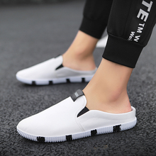 2019 Fashion Low-top Men Casual Shoes Canvas Loafers Summer Breathable Slip on Man Slippers Zapatillas hombre