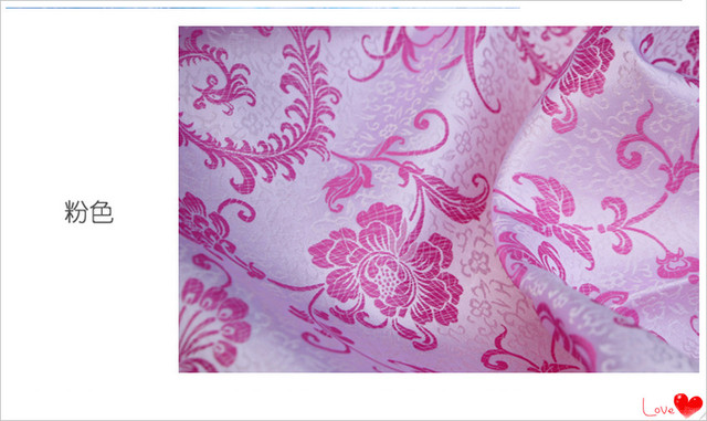 A4 Width 90cm Sewing Accessories Good Quality Brocade Silk Cloth