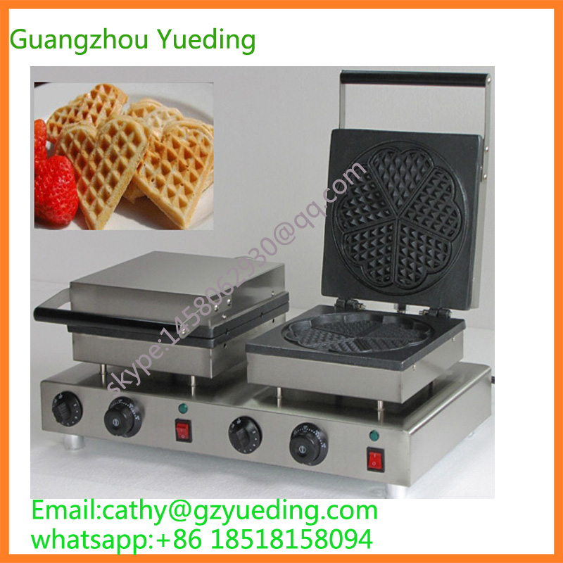 High quality double head heart shape waffle machine maker for baking waffle cake p80 panasonic super high cost complete air cutter torches torch head body straigh machine arc starting 12foot