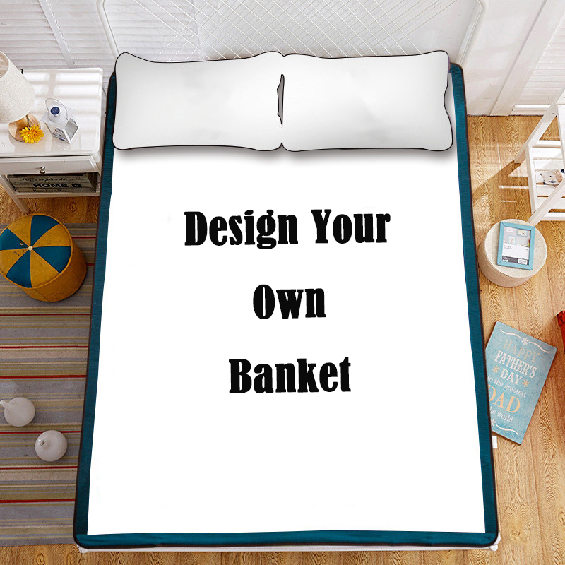 Design Your Own Blanket, Personalized Photo Blanket, Custom Blankets, Extra Large Plush Blankets, 7 Sizes, Vibrant Colors, Soft