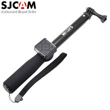 Original SJCAM Brand Accessories Aluminum Monopod Selfie Stick with Remote Control for SJ7 SJ6 M20 4K Wifi Sport Action Camera