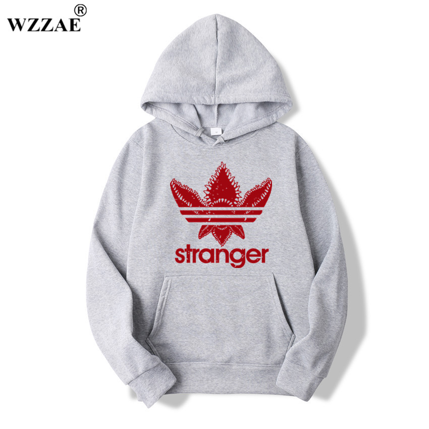 2018 Brand New Fashion Stranger Things Cap Clothing Hooded Sweatshirt Hoodies Men/Women Hip Hop Hoodies Plus Size Streetwear
