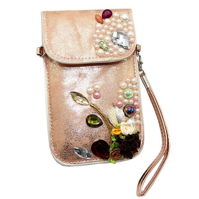 Women Mobile Phone Bag Clutch Purse Fashion Handbag Wallet Free Shipping Dropshipping A7