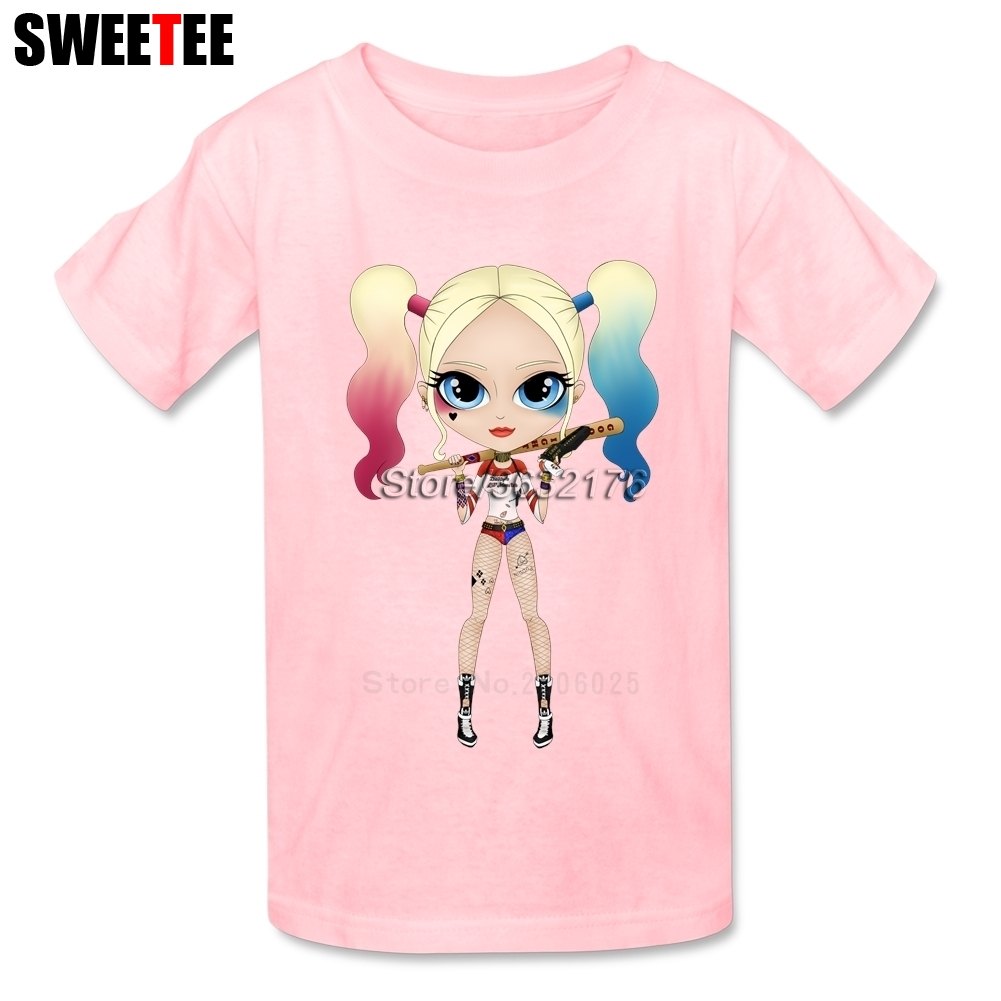 Suicide Squad childrens T Shirt Infant 2018 Harley Cotton O Neck Kid Tshirt Quinn Toddler Garment Boy Girl T-shirt For Baby