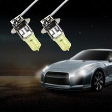 2pcs 55W Automobile Quartz Yellow Light Bulb Car Styling