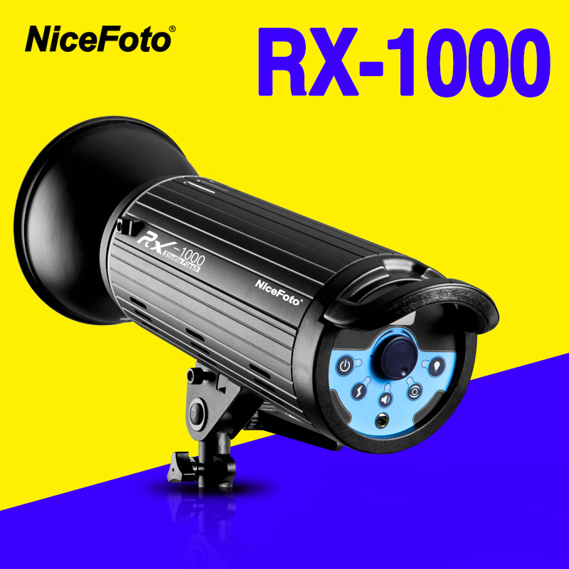 NiceFoto RX-1000 1000W  Studio Flash  fast recycling time RX1000 Studio photography studio light lamp touch button