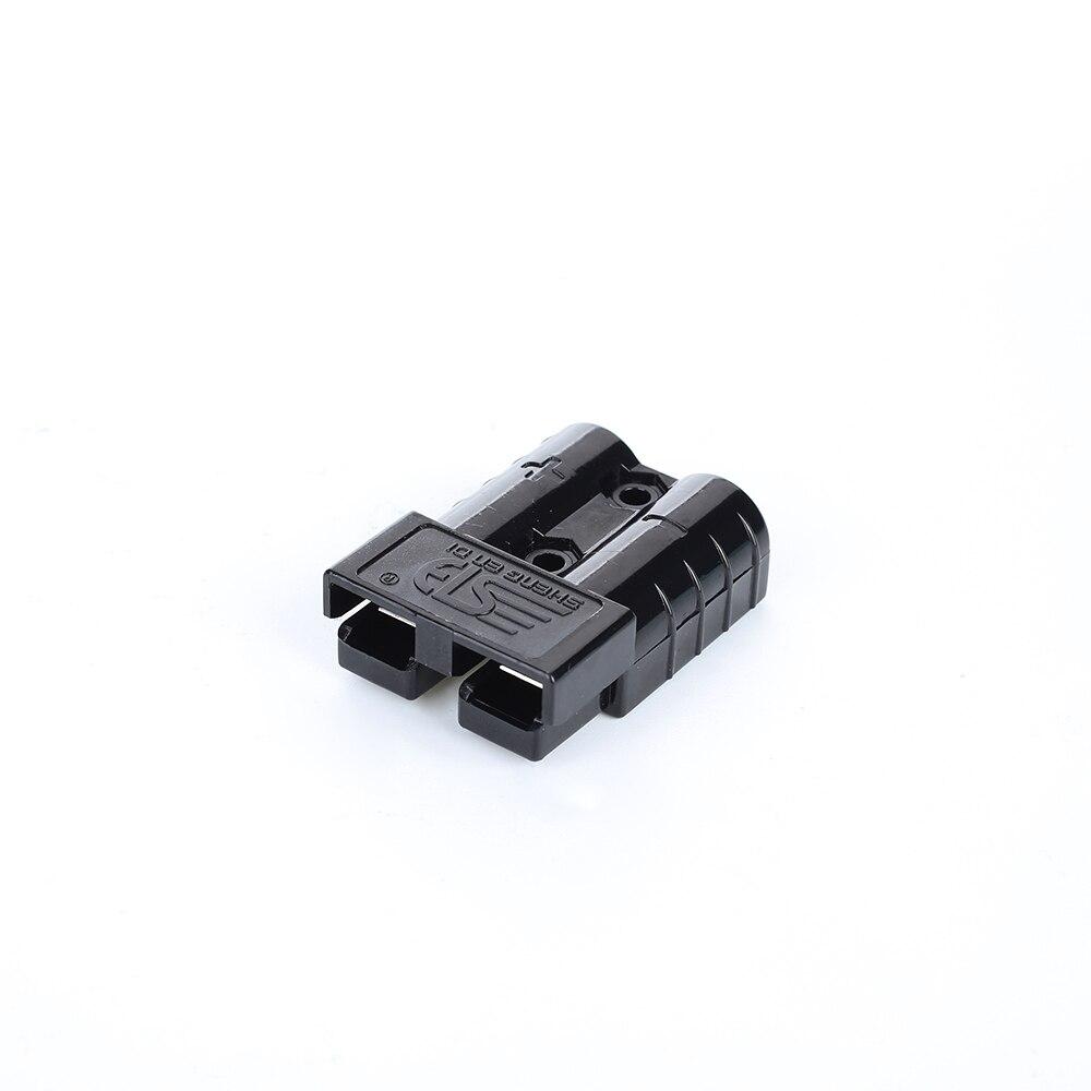 Vehemo для Plug 50A 600 в штепсельный соединитель мощность разъем Железнодорожный электрические системы высокий ток Plug мощность Сменные - Цвет: black