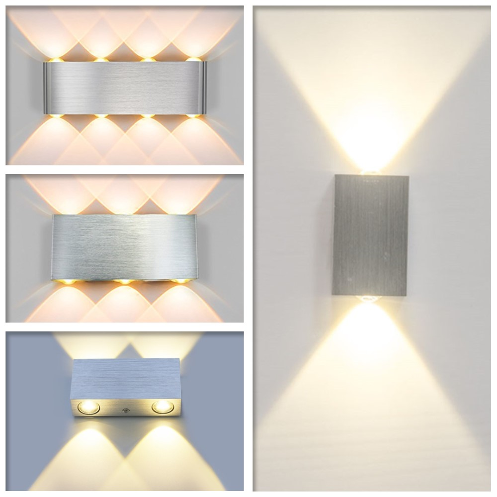 Led Indoor Wall Lamps Led Light Wall Lamp Acrylic Triangle Night Sconce 10w Ac90-260v Indoor Bathroom Bedroom Living Room Hallway Decoration Complete In Specifications Lights & Lighting