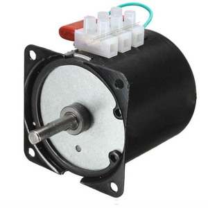 "Image 2 - 220v 14W סינכרוני מנוע 2.5 100 סל""ד נמוך רעש תיבת הילוכים מנוע חשמלי ברביקיו גבוהה מומנט נמוך מהירות סינכרוני AC מנוע"
