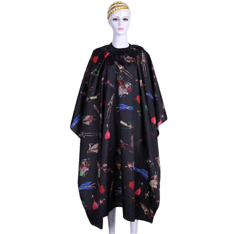 Pro Waterproof sutra Hairdressing Apron Hair Cutting Cape Salon Hairdresser Rambut Cutting Capes Gown Cape Cloth Adult Kids