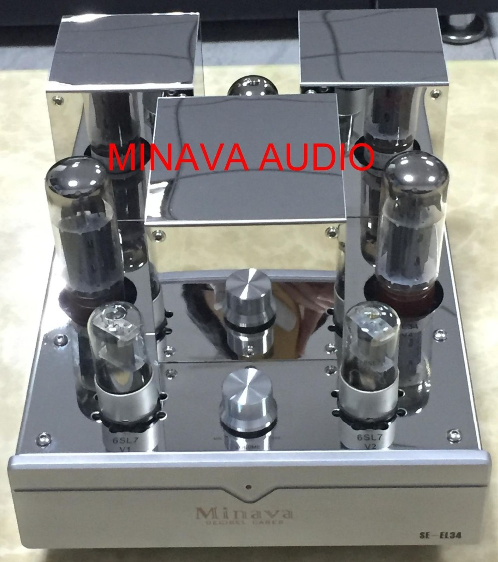 Nobsound HiFi EL34 Valve Tube Power Amplifier Single-ended Class A Home Stereo Audio Amp