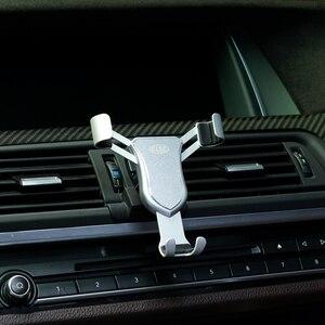 Для BMW 5 серия F10 2010 2011 2012 2013 2014 2015 2016 держатель на вентиляционное отверстие автомобиля держатель для смартфона Чехлы для мобильных телефонов ...