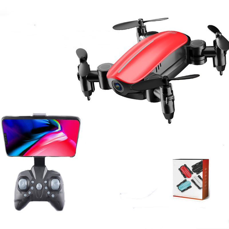 Mini Drone with Camera Headless Mode Altitude Hold RC Helicopters Micro Pocket Selfie Dron RC Quadcopter toys birthday gift image