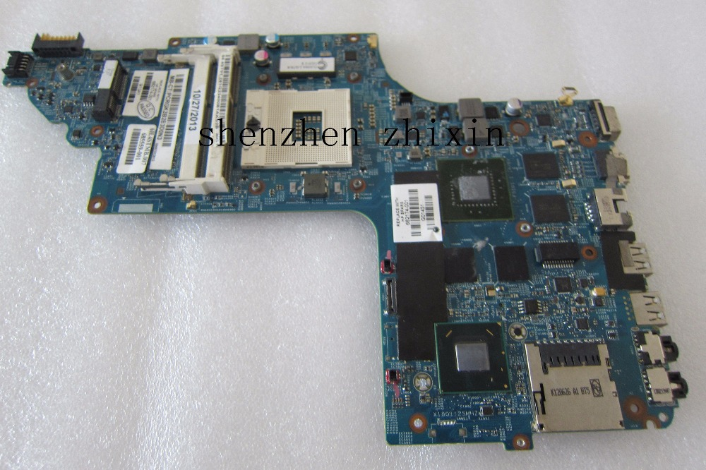 Free Shipping +100% fully tested Original laptop Motherboard For HP DV6-7000 682174-001 N13P-GT-A2 SLJ8C HM77  notebook motherboard for samsung np550 np550p5c n13p gt a2 gt650m ba92 09094a ba41 01898a tested ok free shipping